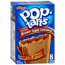 Pantry Supplies - Kelloggs Brown Cinnamon Pop Tarts