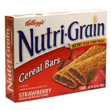 Pantry Supplies - Kelloggs Strawberry Nutri-Grain Bars