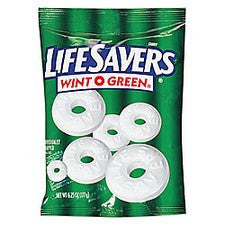 Pantry Supplies - Life Savers Wint-O-Green Individually Wrapped Mints