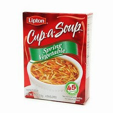Pantry Supplies - Lipton Spring Vegetable Cup-A-Soup
