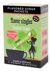 Pantry Supplies - Luxe Cafe Coconut Crush Flavor Singles