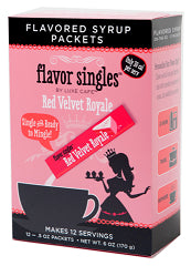 Pantry Supplies - Luxe Cafe Red Velvet Royale Flavor Singles