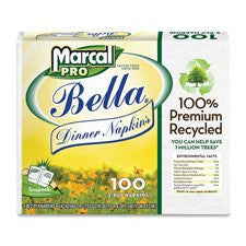 Pantry Supplies - Marcal Bella Dinner Napkins