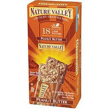 Pantry Supplies - Nature Valley Peanut Butter Crunchy Granola Bars