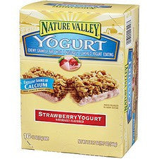 Pantry Supplies - Nature Valley Strawberry Yogurt Granola Bars