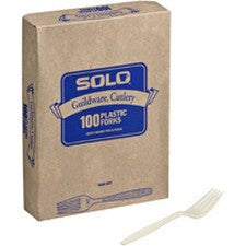 Pantry Supplies - Solo Champagne Heavyweight Guildware Forks