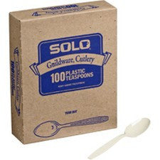 Pantry Supplies - Solo Champagne Heavyweight Guildware Soup Spoons