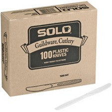 Pantry Supplies - Solo White Heavyweight Guildware Knives