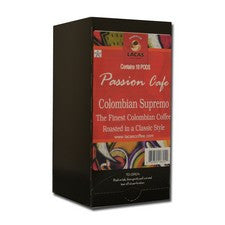 Pods - Lacas Passion Cafe Colombian Supremo Coffee Pods