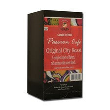 Pods - Lacas Passion Cafe Original City Roast Coffee Pods