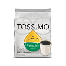 Pods - Tassimo Gevalia Decaf Signature Blend Coffee