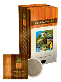 Pods - Wolfgang Puck Jamaican Me Crazy Coffee Pods