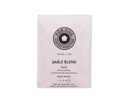 For Five Sable Blend - 1lb Whole Bean