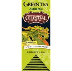 Tea - Celestial Seasonings Authentic Green Tea Bags