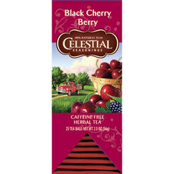Tea - Celestial Seasonings Black Cherry Berry Herbal Tea Bags