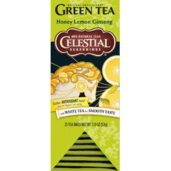Tea - Celestial Seasonings Honey Lemon Ginseng Tea Bags