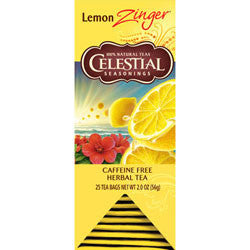Tea - Celestial Seasonings Lemon Zinger Tea Bags