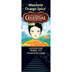 Tea - Celestial Seasonings Mandarin Orange Spice Tea Bags