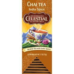 Tea - Celestial Seasonings Original Indian Chai Tea Bags