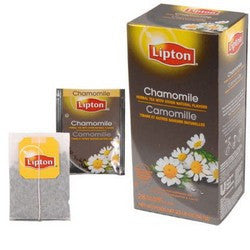 Tea - Lipton Chamomile Herbal Tea Bags
