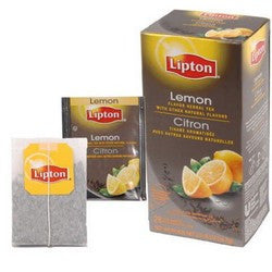 Tea - Lipton Lemon Herbal Tea Bags