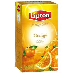Tea - Lipton Orange Tea Bags