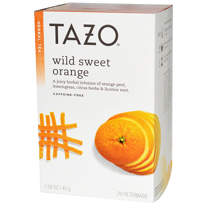 Tea - Tazo Wild Sweet Orange Tea Bags