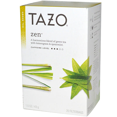 Tea - Tazo Zen Tea Bags