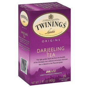 Tea - Twinings Darjeeling Tea Bags
