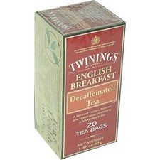 Tea - Twinings Decaf English Breakfast Tea Bags