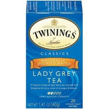 Tea - Twinings Decaf Lady Grey Tea Bags