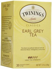 Tea - Twinings Earl Grey Tea Bags