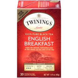 Tea - Twinings English Breakfast Tea Bags