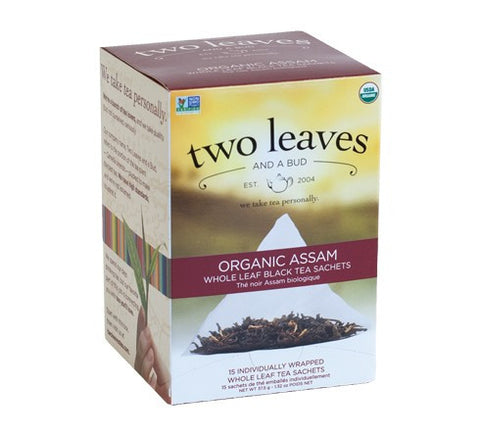 Tea - Two Leaves And A Bud Organic Assam Breakfast Tea