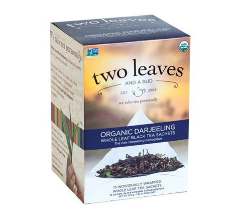 Tea - Two Leaves And A Bud Organic Darjeeling Tea Bags