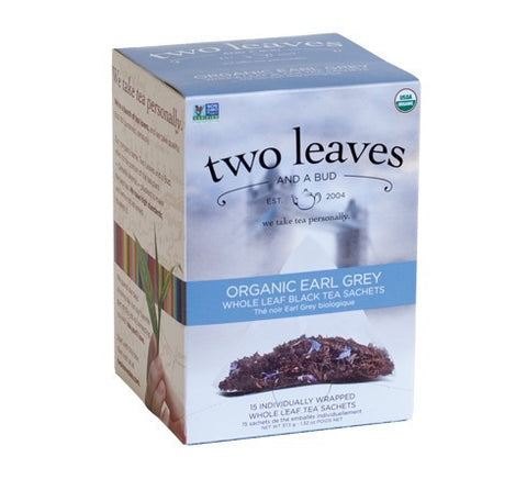 Tea - Two Leaves And A Bud Organic Earl Grey Tea Bags