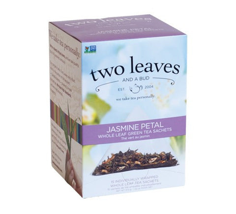 Tea - Two Leaves And A Bud Organic Jasmine Petal Tea Bags