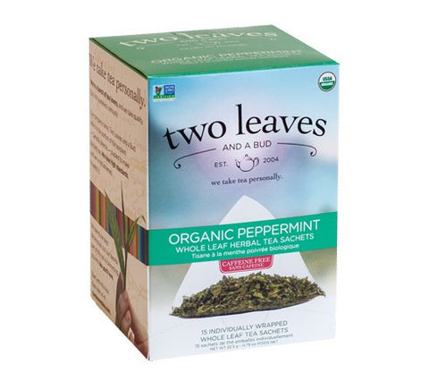 Tea - Two Leaves And A Bud Organic Peppermint Tea Bags