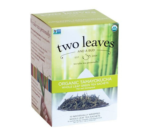 Tea - Two Leaves And A Bud Organic Tamayokucha Tea Bags