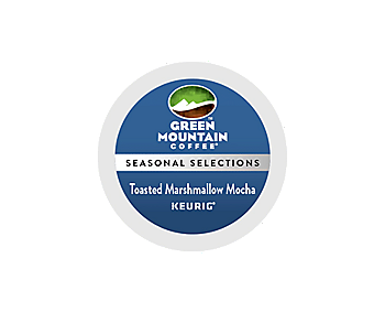 Green Mountain Toasted Marshmallow Mocha K-CUP Pods