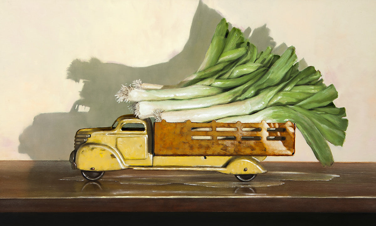 Old Trucks with Leeks