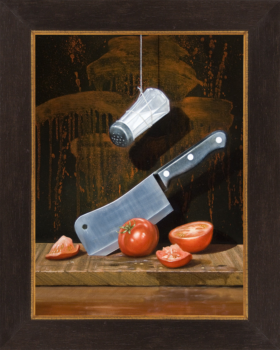 A Salt With A Deadly Weapon Humor Knife Amp Tomatoes