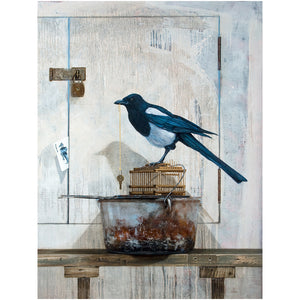 All along the watchtower, canvas giclee view, magpie, joker, print, richard hall