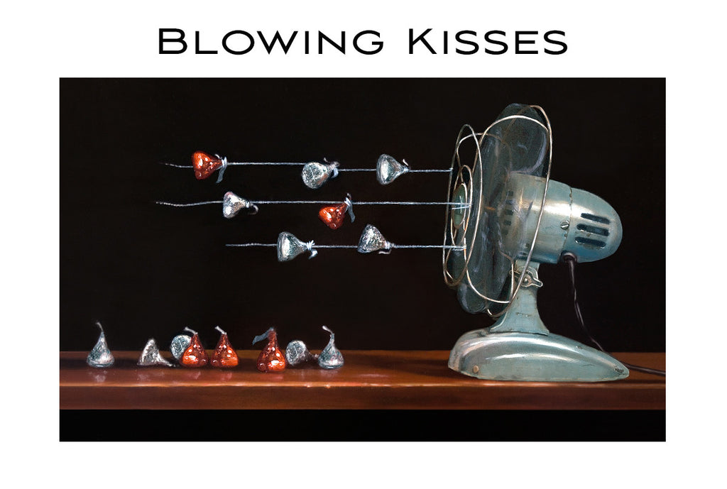 Blowing Kisses Cards