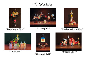 Kisses - Greeting Cards