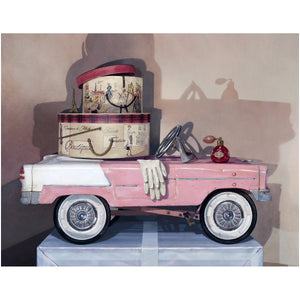 Ready For Take Off, 1941 pedal car pursuit plane, award winning, Richard Hall, giclee print