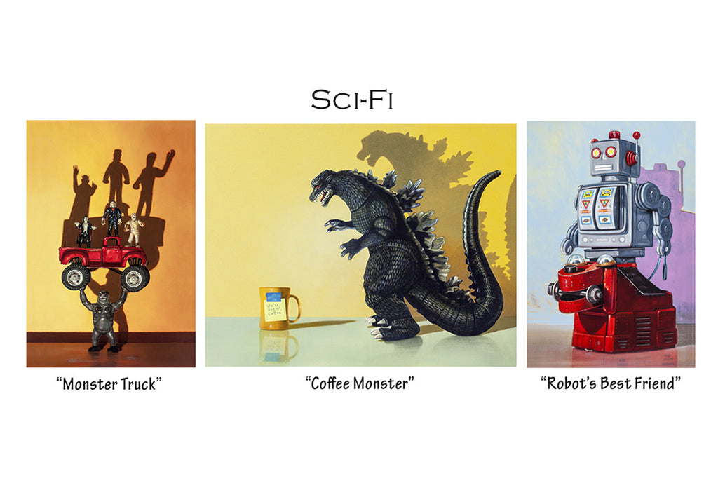 Sci-Fi Greeting Cards