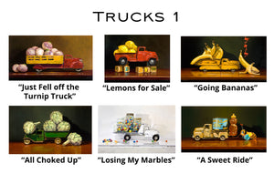 Trucks 1 - Greeting Cards