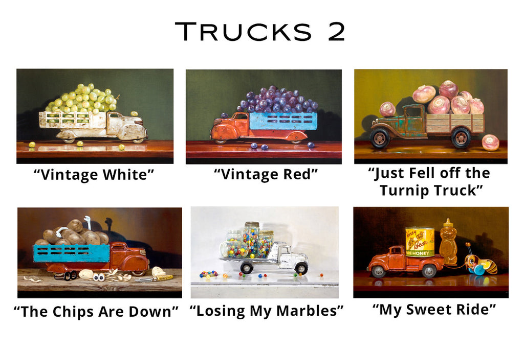 Trucks 2 - Greeting Cards