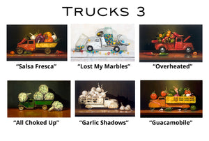 Trucks 3 - Greeting Cards